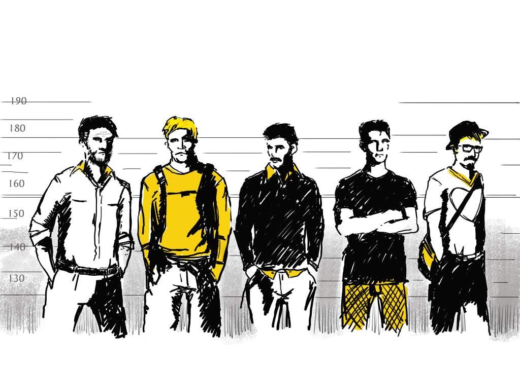 Illustratör Stefan Lindblad, teckning, tuschpenna, marker, touch twin, Tidningen Kommunalarbetaren