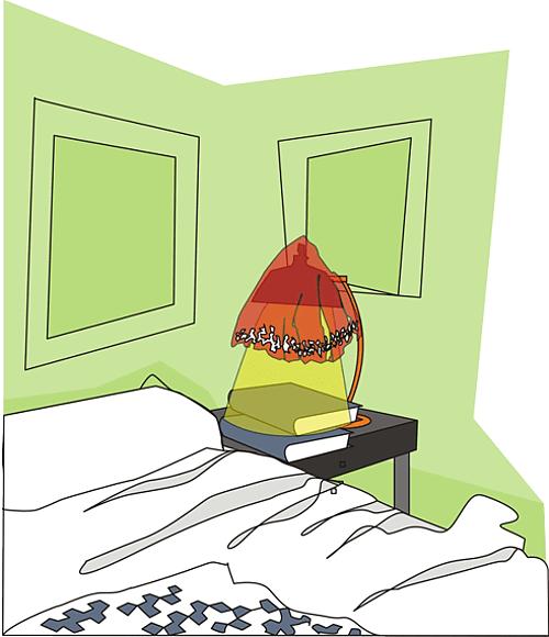 Illustratör Stefan Lindblad, vektor illustration, vector, CorelDRAW, Brandskyddsföreningen, editorial, magazine