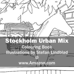 Stefan Lindblad, illustration, Illustratör, Illustration, teckningar, drawings, Corlouring, Coloring Book, Stockholm Urban Mix, Enskede Gård, Ridskola, Häst