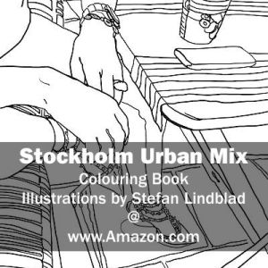 Stefan Lindblad, illustration, Illustratör, Illustration, teckningar, drawings, Corlouring, Coloring Book, Stockholm Urban Mix, Shoes, women, Valentino Garavani
