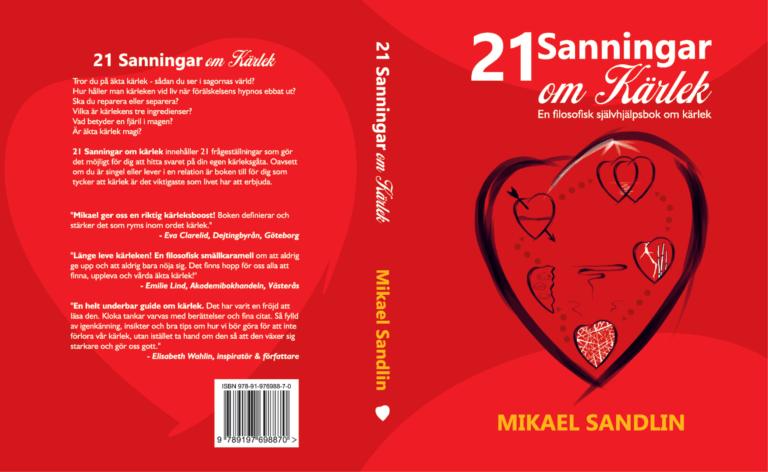 Nytt bokomslag – 21 sanningar om kärlek