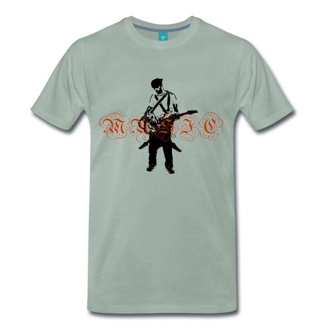 Ny t-shirt design Rock musician på Spreadshirt av Stefan Lindblad