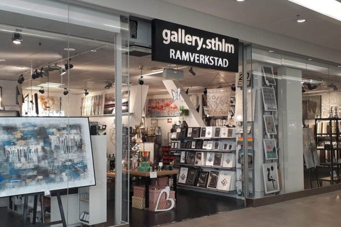Gallery Sthlm Ramverkstad, Globen, Gallerix