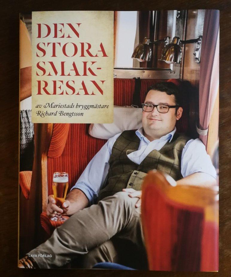Illustrationer, teckningar, kartor, boken, Den stora smakresan, Mariestads öl, Spendrups, bryggmästare, Richard Bengtsson