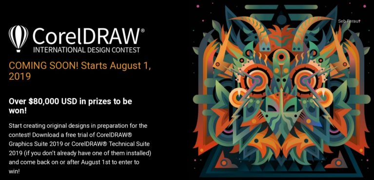 CorelDraw International Design Contest is back