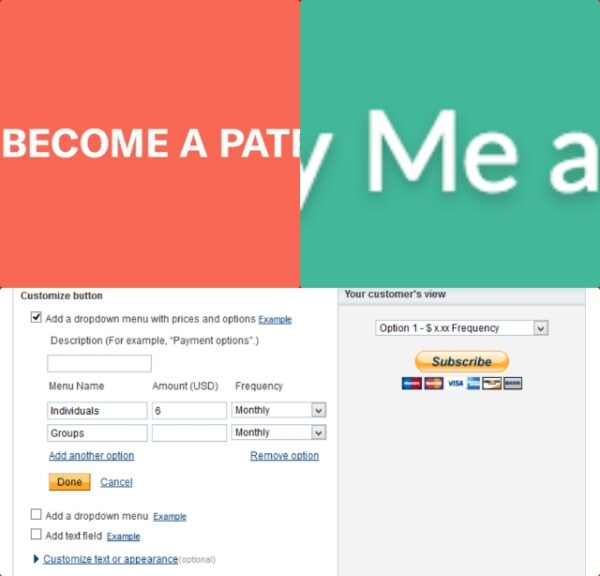 Why using Patreon when PayPal is enough alternative