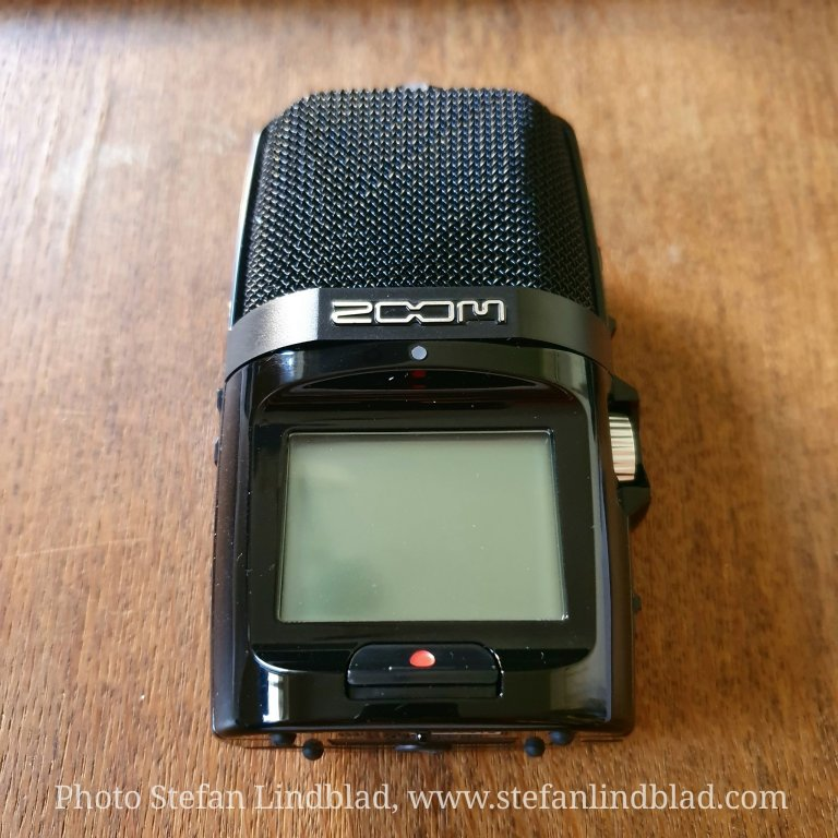 Low sound level when recording videos using Zoom H2n Handy recorder