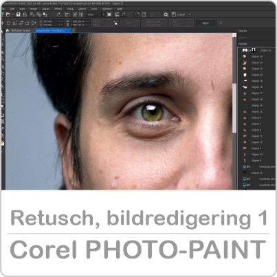 Onlinekurs bildredigering i Corel Photo-Paint