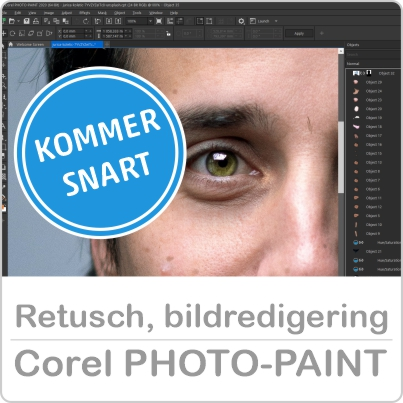 Ny kurs bildretusch Corel Photo_paint