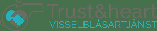 trust och heart visselblåsartjänst logga logotyp, illustratör Stefan Lindblad