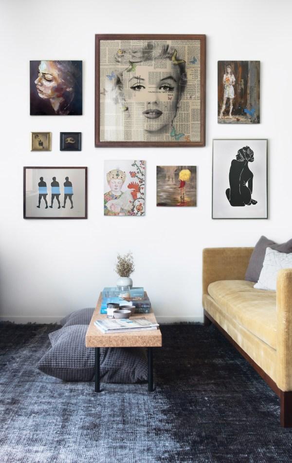 Perfect Salon-style Walls Canvas