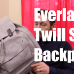 Everlane Twill Snap Backpack