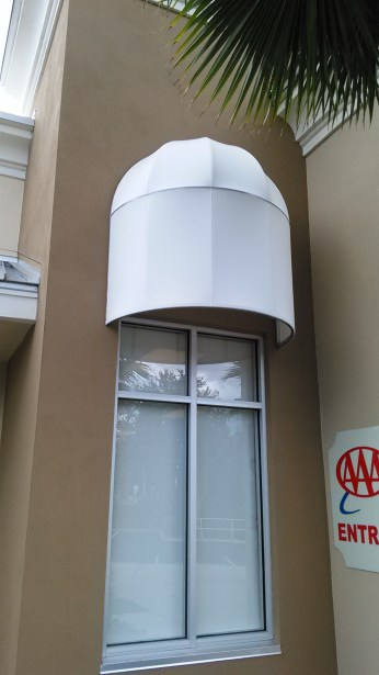 dome cap awnings
