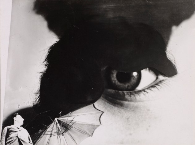 "Photo Eye (Foto-Auge),"" 1927, printed 1938–40. Anton Stankowski (German, 1906–1998). Gelatin silver print, montage, from negatives with handwork; 10.9 x 14.5 cm. The Cleveland Museum of Art, John L. Severance Fund 2007.122. © Stankowski-Stiftung."