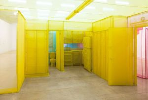 A portion of Do Ho Suh's New York apartment