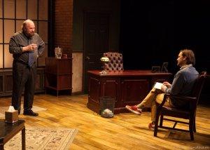 Robert Hawkes, left, as John and Adam Heffernan as Ian. PHOTO | Kathy Sandham
