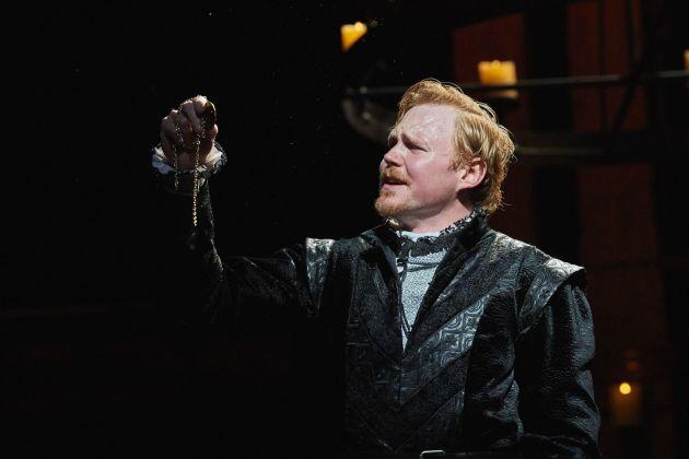 Jonathan Dyrud as Hamlet. Photo / Roger Mastroianni