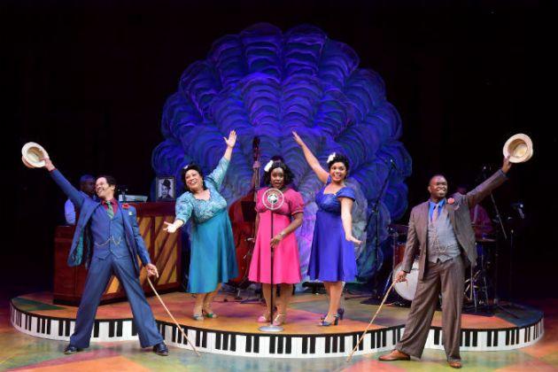 From left, Jim Weaver, Tina D. Stump, Aveena Sawyer, Channy Lewis, and Eugene Sumlin. Photo   Bob Christy