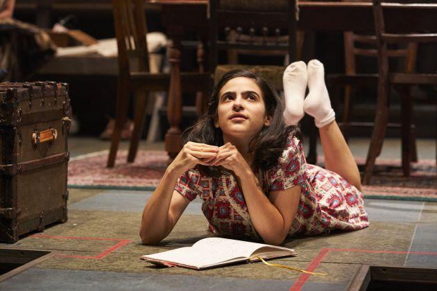 Annie Fox as Anne Frank. Photo / Roger Mastroianni