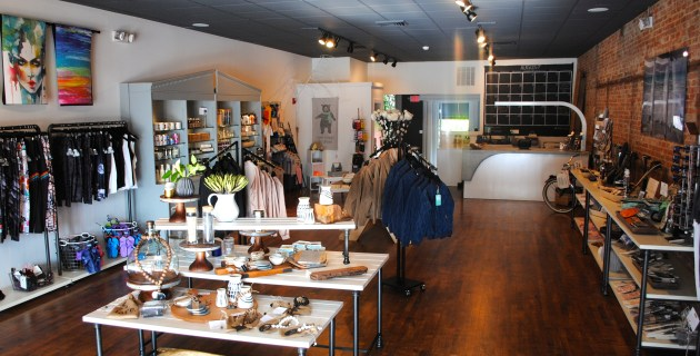Many of their vendors at SHED Boutique and Wellness specialize in fair trade products, use recycled materials or donate a percent of their proceeds to various causes.