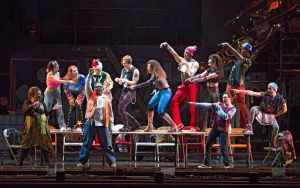 "The 2017 ensemble of ""Rent."" Photo / Carol Rosegg"
