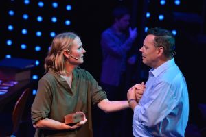 Amy Fritsche as Diana and Thom Christopher Warren as Dan. Photo/Bob Christy