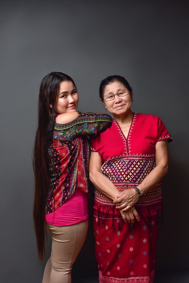 From left, Tha Dah with her mother, Paw Eh. The two immigrated to Akron in 2011 from a refugee camp in Thailand. They became refugees after Burmese soldiers tried to kill them.