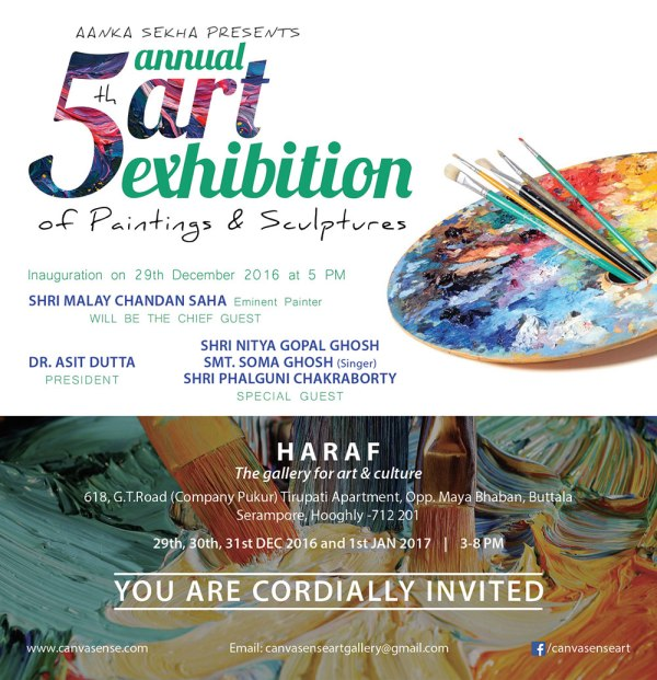 5th Annual Exhibition Of Paintings & Sculptures
