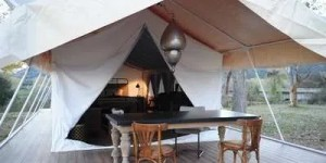 Ultra Luxury safari tent, jungle safari tent, exclusive safari tent