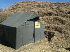 kitchen tent for resorts