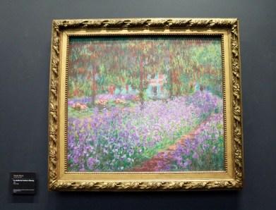 Le jardin de l'artiste à Giverny. Claude Monet. 1900.