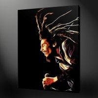 BOB MARLEY CANVAS WALL ART PICTURES PRINTS PAINTING STYLE ...