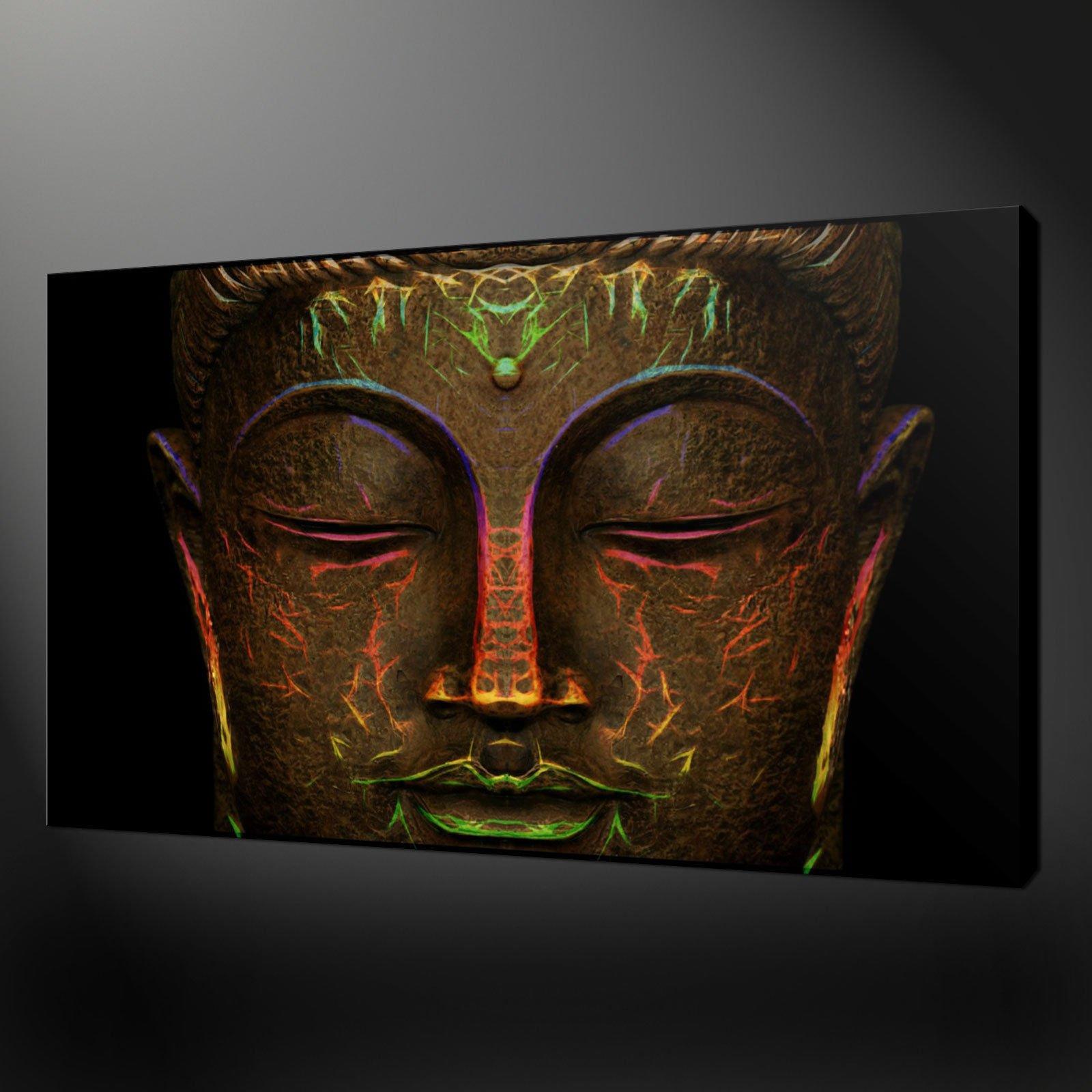 Buddha canvas wall art ronniebrownlifesystems