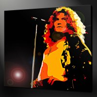 ROBERT PLANT LED ZEPPELIN CANVAS WALL ART PICTURES PRINTS ...