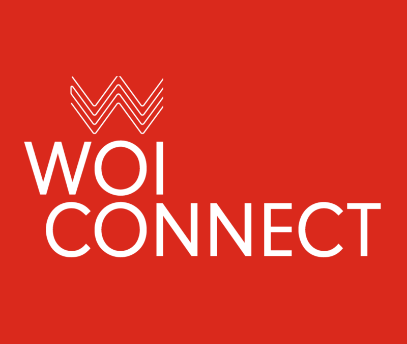 WOI CONNECT logo