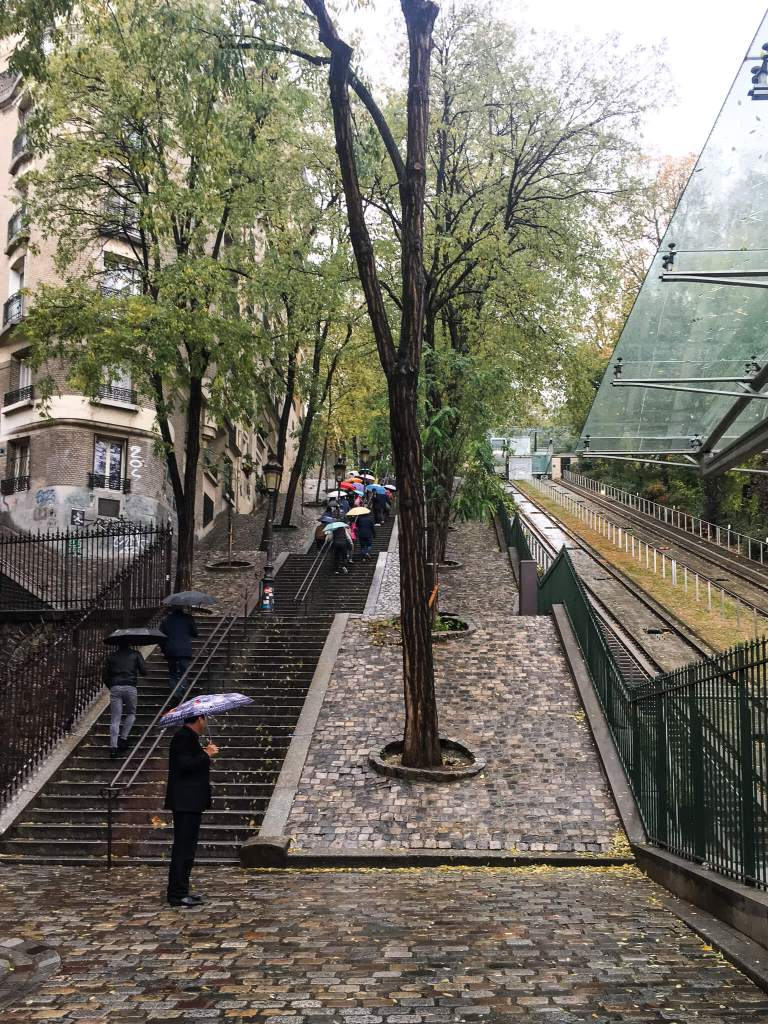 Montmartre Steps and Funicular