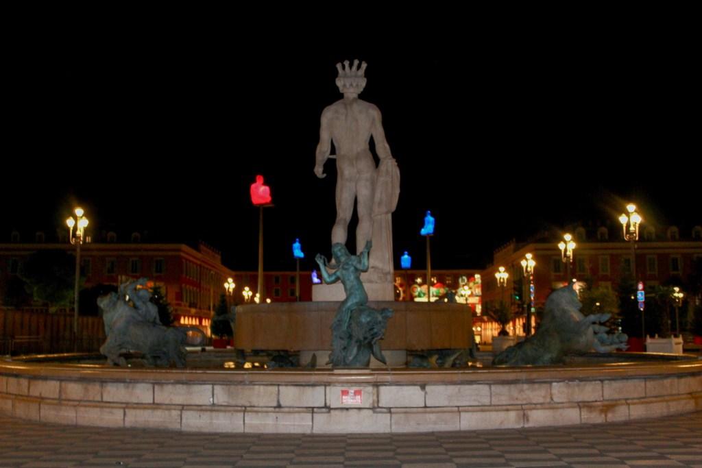 Place du Massena at Night