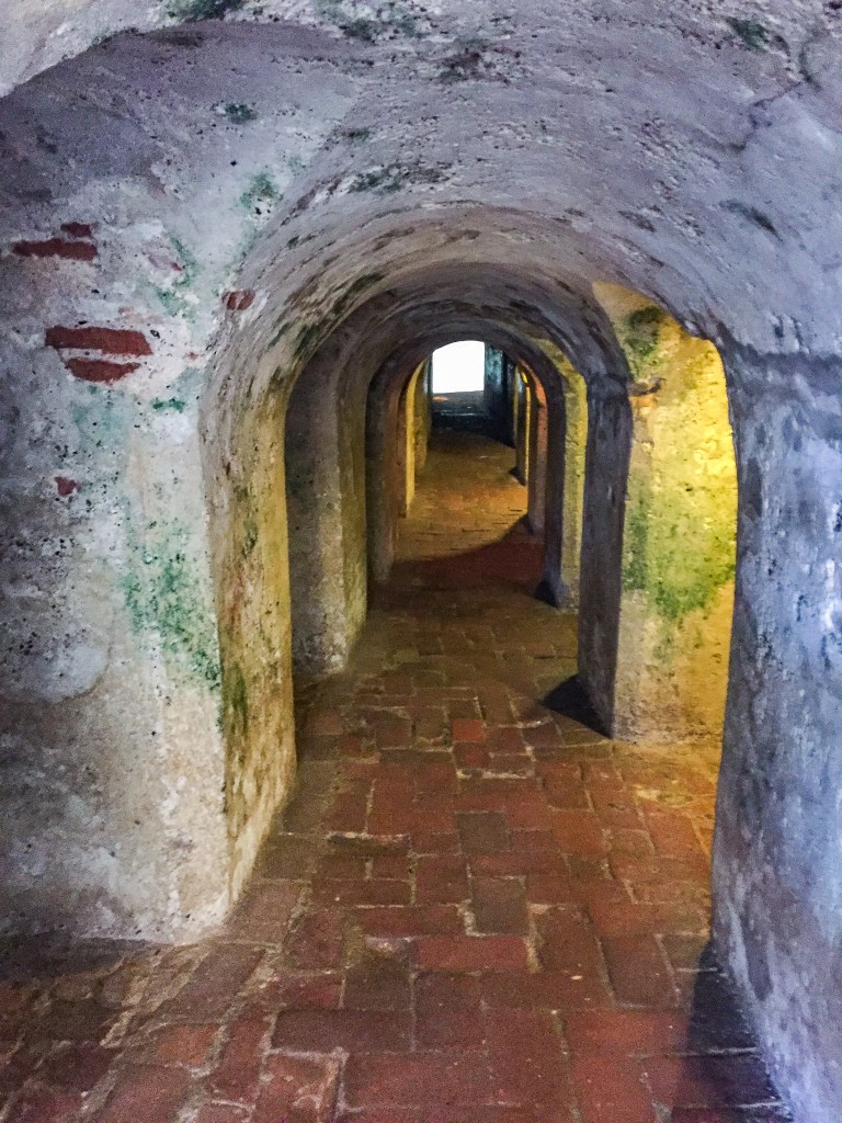 Things to do in Cartagena - Castillo de San Felipe tunnel