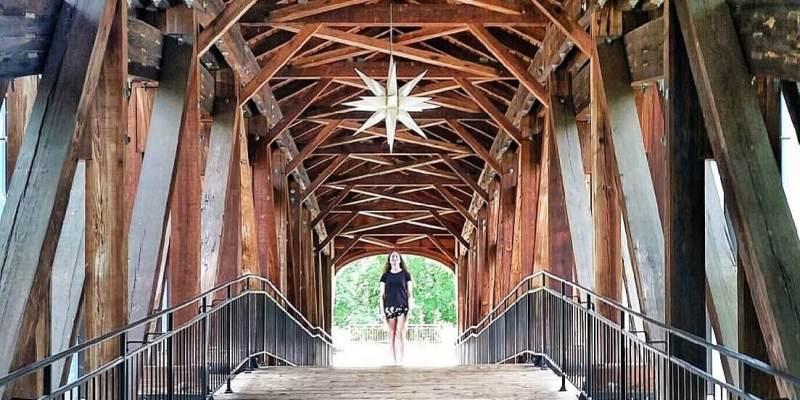 Winston-Salem Heritage Bridge Moravian Star