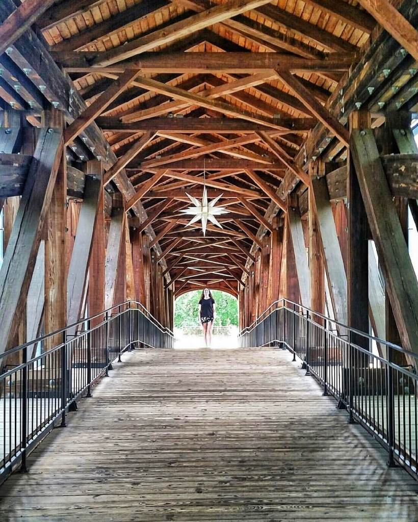 Winston-Salem Heritage Bridge Moravian Star