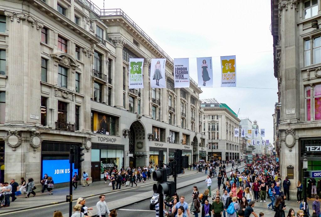 Oxford Circus - Shopping Street - London
