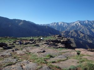 Plateau du canyon Yagour.