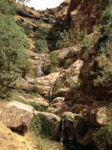 Petite cascade dans le canyon de Tazitounte.