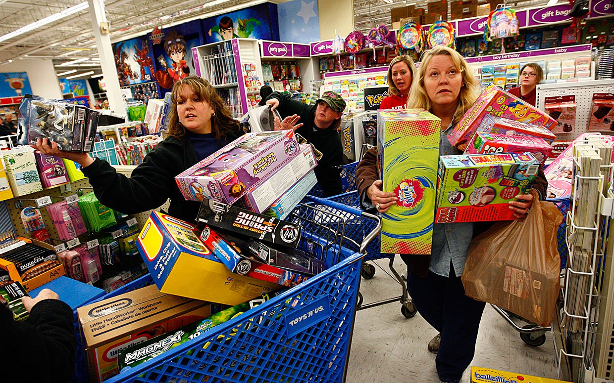Black Friday ? The Madness Of Black Friday! - Canyon News