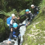 Virginie Faure canyoning photo sud-ouest groupe 2