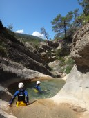 sunny canyon and warm water