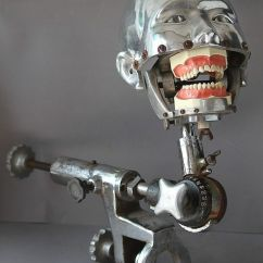 Vintage Dentist Chair Cool Outdoor Lounge Chairs These Dental Training Mannequins Are The Most Horrific Things That Ever Existed