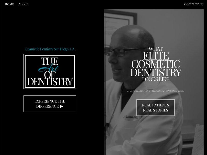 Art of Dentistry - Portfolio - Cao Creative