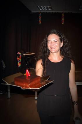 Celebrando el cuarto cumpleaños de La Ofendida.