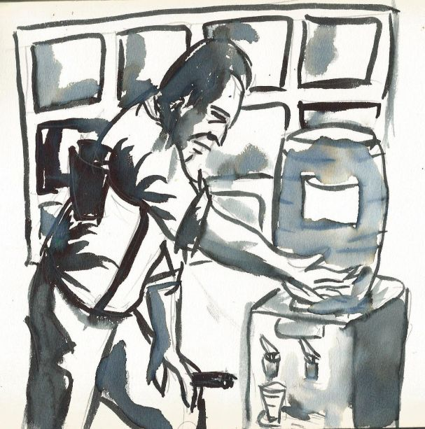 Ilustración de Manuel Martín Morgado.